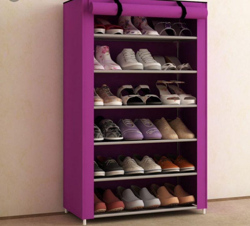 Tủ vải đựng giày 6 tầng giá sỉ, giá bán buôn
