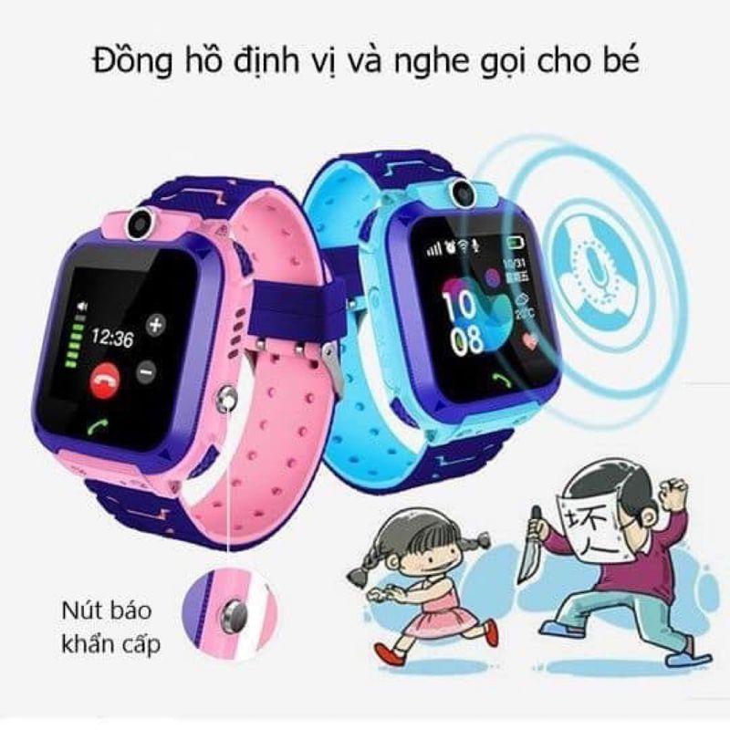 Đồng hồ trẻ em định vị chống nước Q12 giá sỉ, giá bán buôn