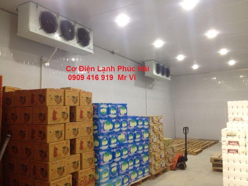 Lắp đặt kho lạnh bảo quản nông sản giá sỉ, giá bán buôn