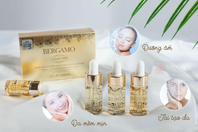 Serum Collagen Luxury Gold Chống Nhăn Bergamo 13ml giá sỉ, giá bán buôn