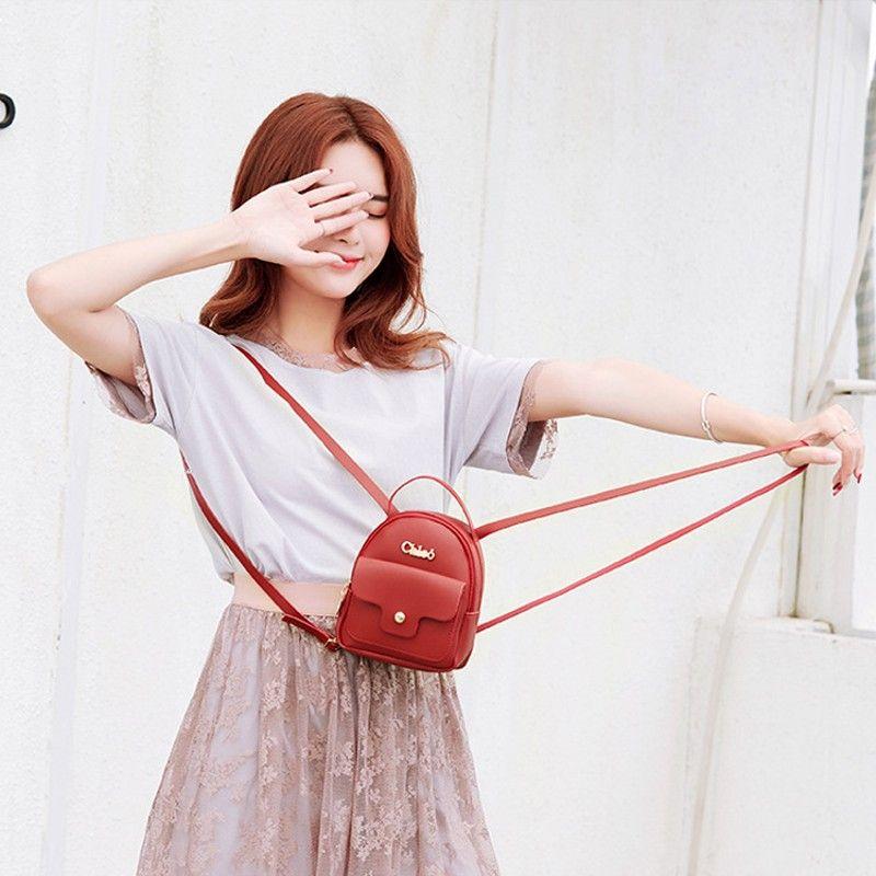 Balo nữ nhỏ xinh thời trang hàn quốc D1307 giá sỉ, giá bán buôn