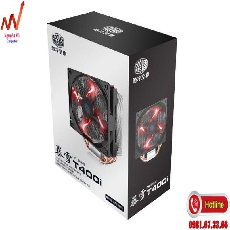 Fan tản nhiệt CPU CoolerMaster T400i giá sỉ giá bán buôn