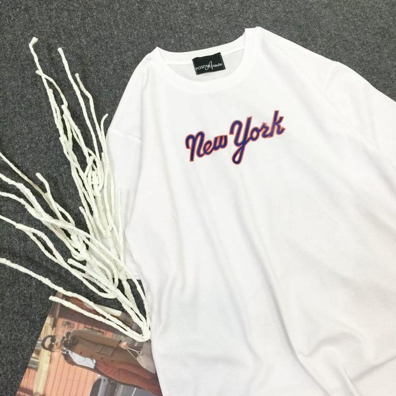 Áo thun in trắng đơn giản giá sỉ, giá bán buôn