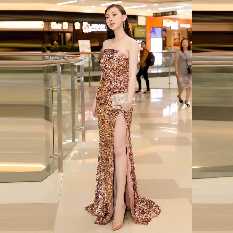 Đầm Dạ Hội Kim Sa Cúp Ngực Cao Cấp giá sỉ, giá bán buôn
