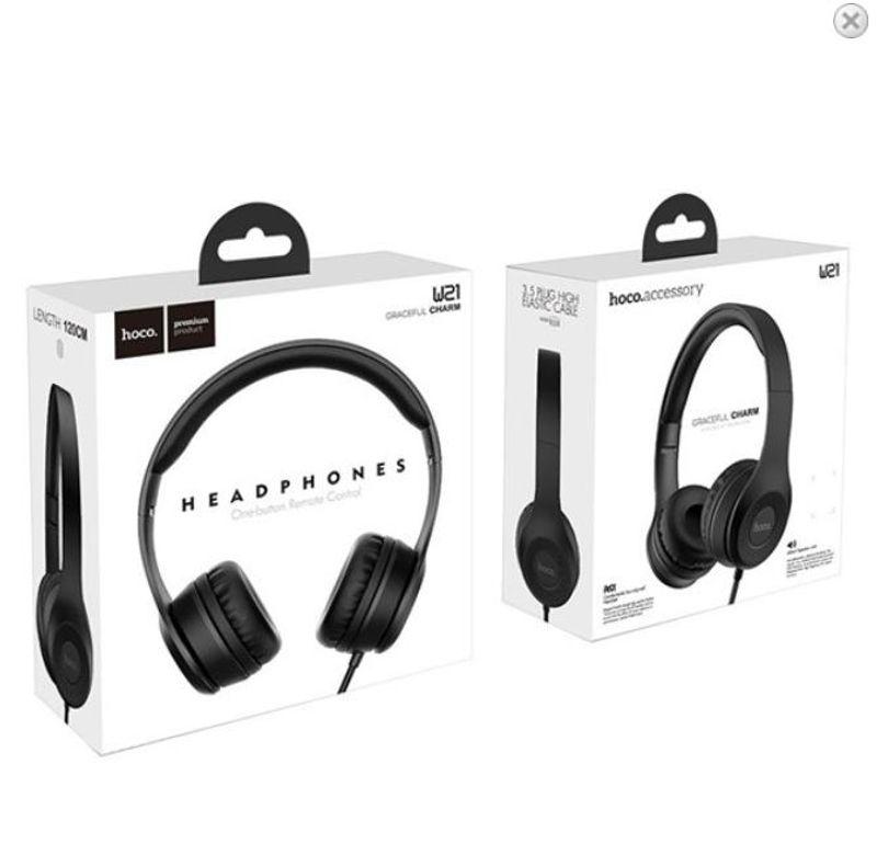 Tai nghe chụp tai Hoco W21 giá sỉ, giá bán buôn