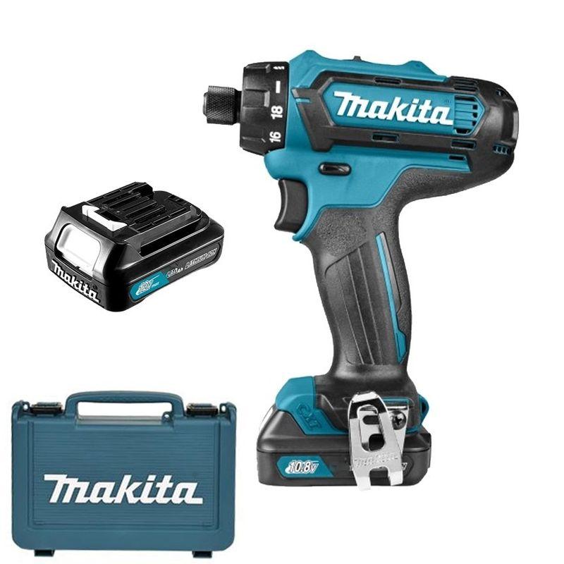 Máy khoan vặn vít dùng pin Makita 12V DF031DSYE giá sỉ, giá bán buôn