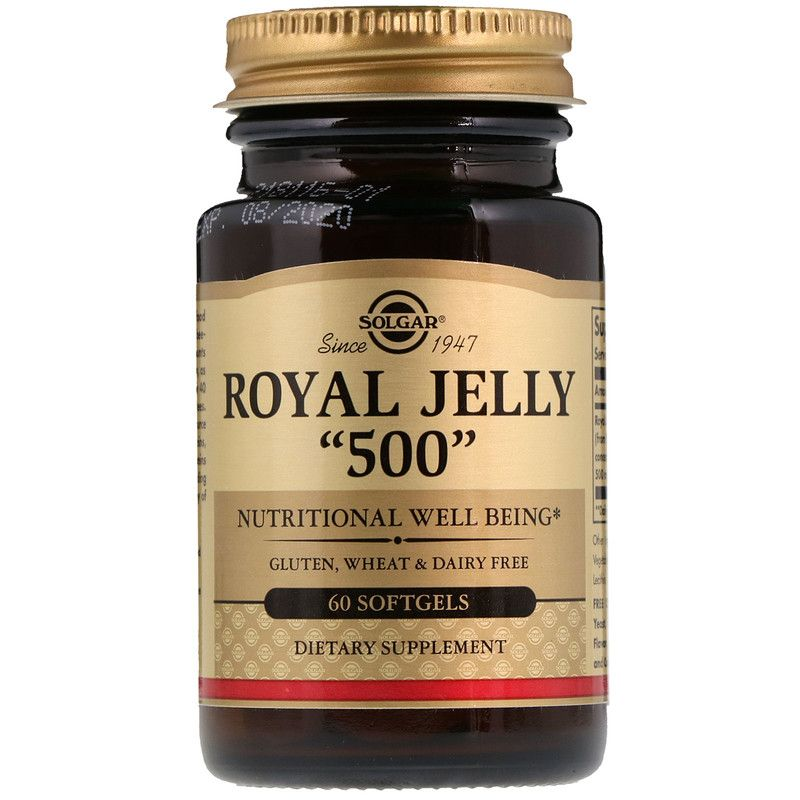 Viên uống sữa ong chúa cao cấp Solgar Royal Jelly 500 - 60 viên giá sỉ, giá bán buôn