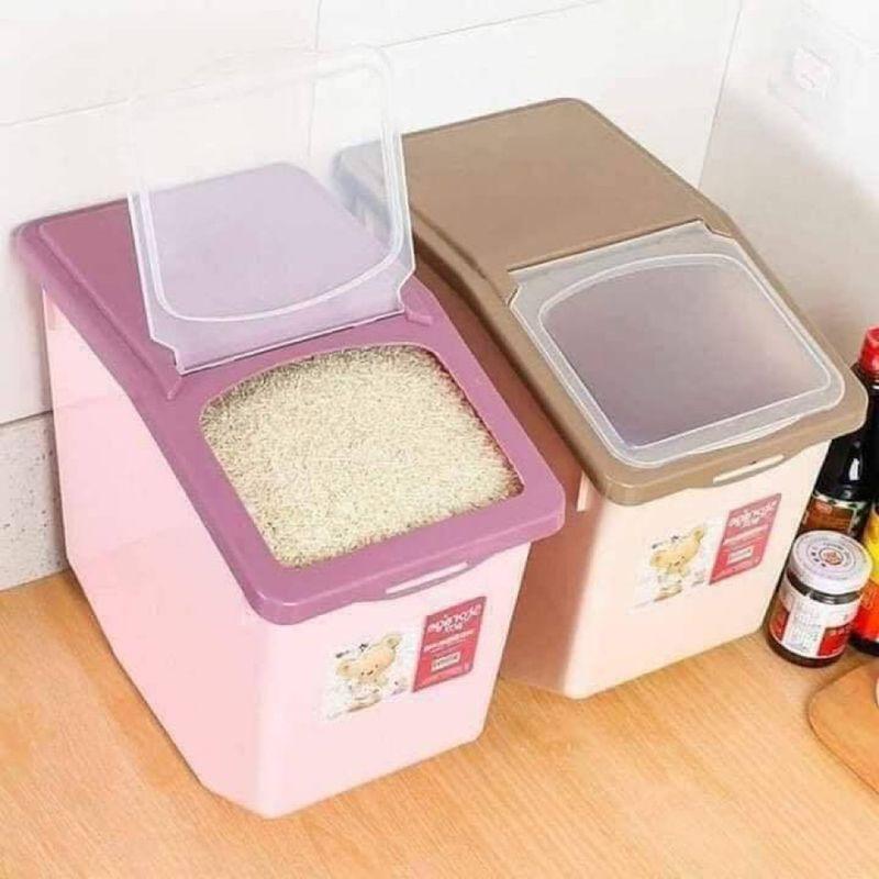 Thùng đựng gạo tiện dụng cho gia đình giá sỉ, giá bán buôn
