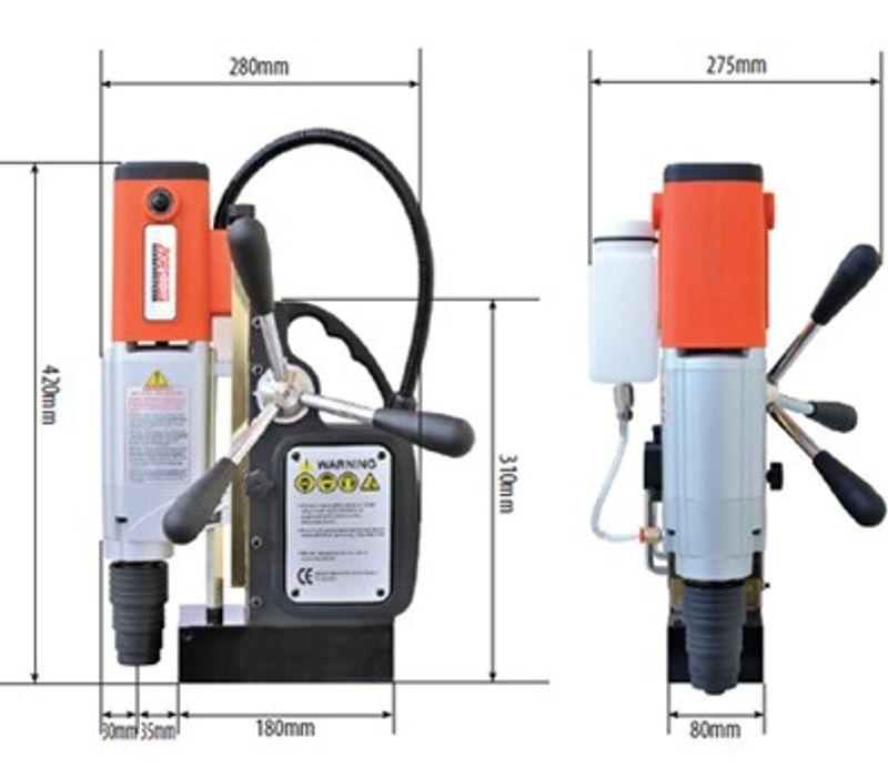 Máy khoan từ đa năng hiệu AGP model TP2000 giá sỉ, giá bán buôn