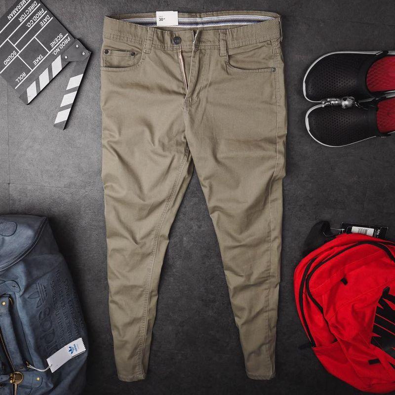 hàng hot vừa xuất xưởng phục vụ ae quần kaki màu nâu đất giá sỉ, giá bán buôn