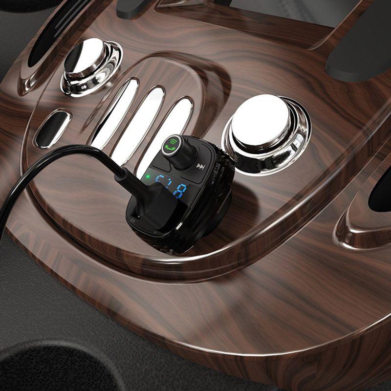 BOROFONE Máy Phát FM Kèm Cóc Sạc Xe Hơi BC16 2 Cổng USB Hỗ Trợ Thẻ Nhớ 32GB giá sỉ