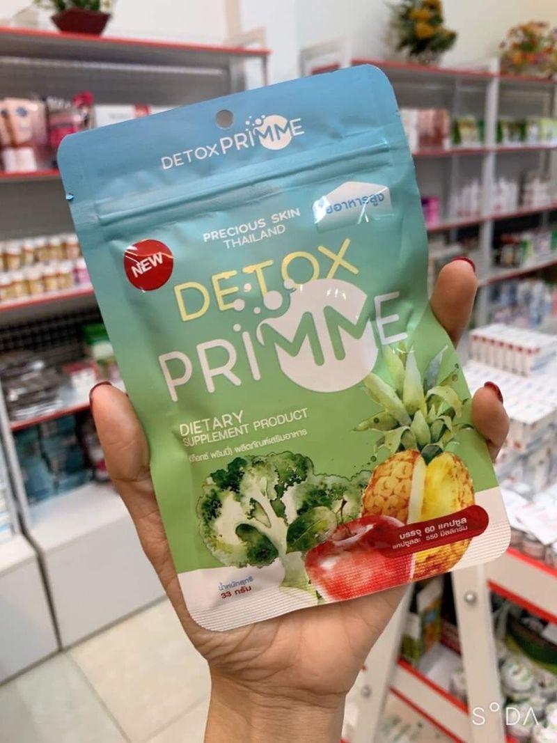 Viên uống detox prime giảm mỡ giá sỉ - giá bán buôn   White Beauty ...