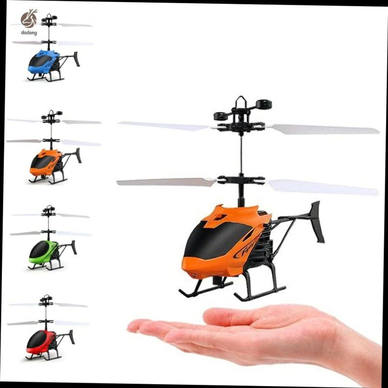 Bộ máy bay trực thăng điều khiển từ xa mini D715 có đèn150k giá sỉ