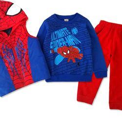 Set người nhện kèm áo khoác phao bbt-1240a-149 giá sỉ