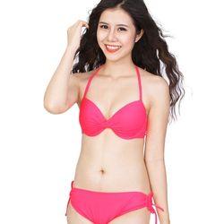 Bộ đồ bơi bikini pink trẻ trung sh-db15