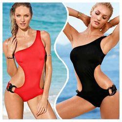 Đồ bơi bikini một mảnh khoét eo lệch vai