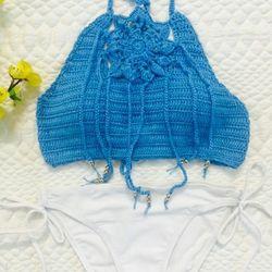 Bikini len móc gợi cảm cho những cô nàng mình hạc sương mai