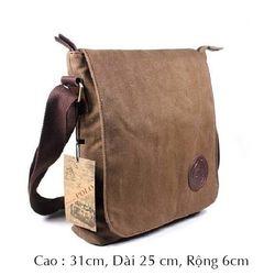 Túi đeo chéo vải bố v003 giá sỉ