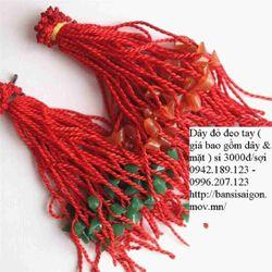 Dây đỏ đeo tay may mắn kèm mặt dây 3k lô 400 dây là một triệu đồng chuyên bán buôn son xăm wow hàn quốc 18k giá sỉ
