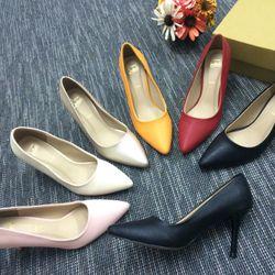 Giày cao gót si vân giá sỉ