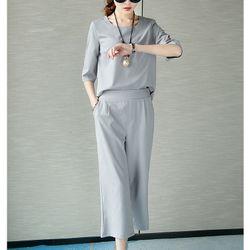Sét quần lửng + áo tay lửng-gs070