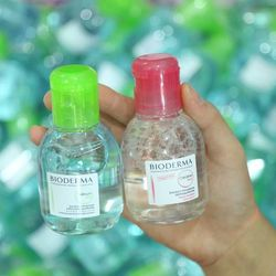 Tẩy trang bioderma créaline h20 và bioderma sébium h2o - 1 giá sỉ