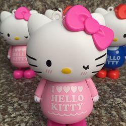 Quạt cầm tay pin sạc kitty siêu cute