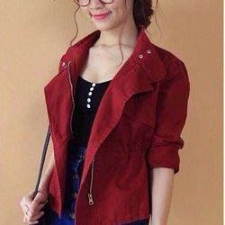zozoshop ak2287 áo khoác cổ vest bo eo- giá sỉ giá tốt giá sỉ