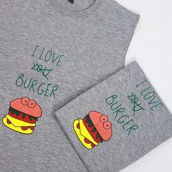 Áo ba lỗ hambuger màu sắc giá sỉ
