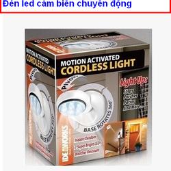 Đèn led cảm biến chống trộm angel light cordless light