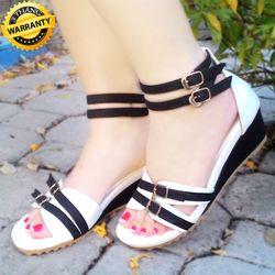 Giày sandal đế xuồng thấp
