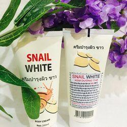 kem dưỡng thể snail white với công thức đột phá cho hiệu quả trang điểm và dưỡng trắng da ngày càng mịn màng trắng sáng giá sỉ