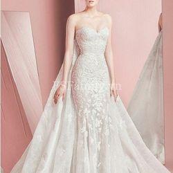 Váy cưới đuôi cá cúp ngực ren