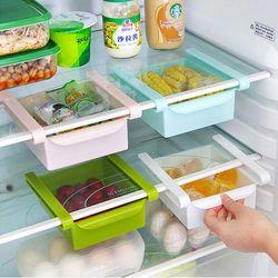 Khay kéo thông minh giúp tủ lạnh gọn gàng