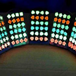Bông tai dạ quang phát sáng trong đêm giá sỉ 8k/đôi