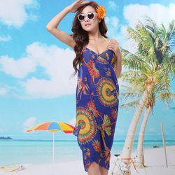 Khăn tắm đi biển đa năng cho mùa hè tươi mát mẫu mới 12 giá sỉ