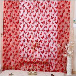 Rèm cửa hình bướm vina 1m x 2m cho nhà thêm xinh - cam giá sỉ