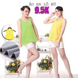 Áo ba lỗ nữ | giá sỉ rẻ đẹp 9.5k