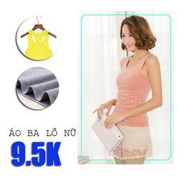 Áo ba lỗ nữ giá sỉ 9.5k | xưởng cắt