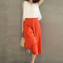 *sb2753* set áo kiểu quần suông lửng