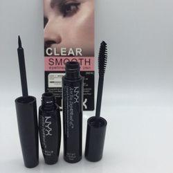 Combo bộ 2 mascara eyeliner clear smoothe nỹx
