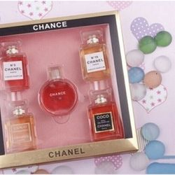 Set nước hoa 1 hộp 5 chai
