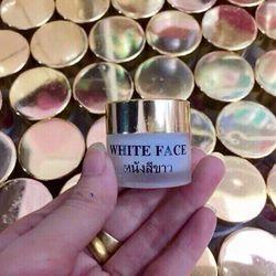 Kem white face thái lan : trị mụn, thâm và làm trắng da