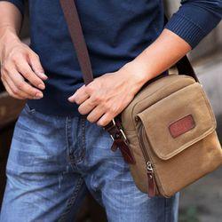 Túi đeo chéo vải bố thời trang v131 giá sỉ