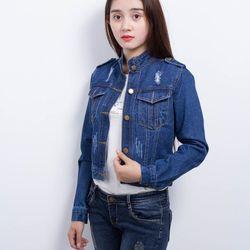 Áo khoác jean nữ akj03