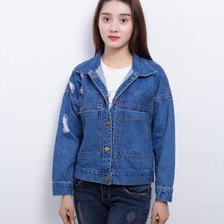 Áo khoác jean nữ akj02