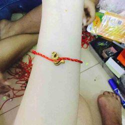 dây đeo tay may mắn giá sỉ 3k kèm mặt dây giá sỉ