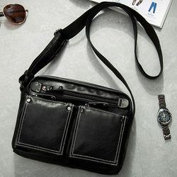 Túi đeo chéo da nam cá tính d261 giá sỉ, giá bán buôn
