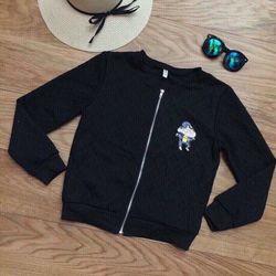 ak2890 áo khoác phao in cu shin quảng châu - giá sỉ 135k - chất vải giá sỉ