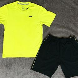 Quần áo thể thao nam và nữ vải lụa